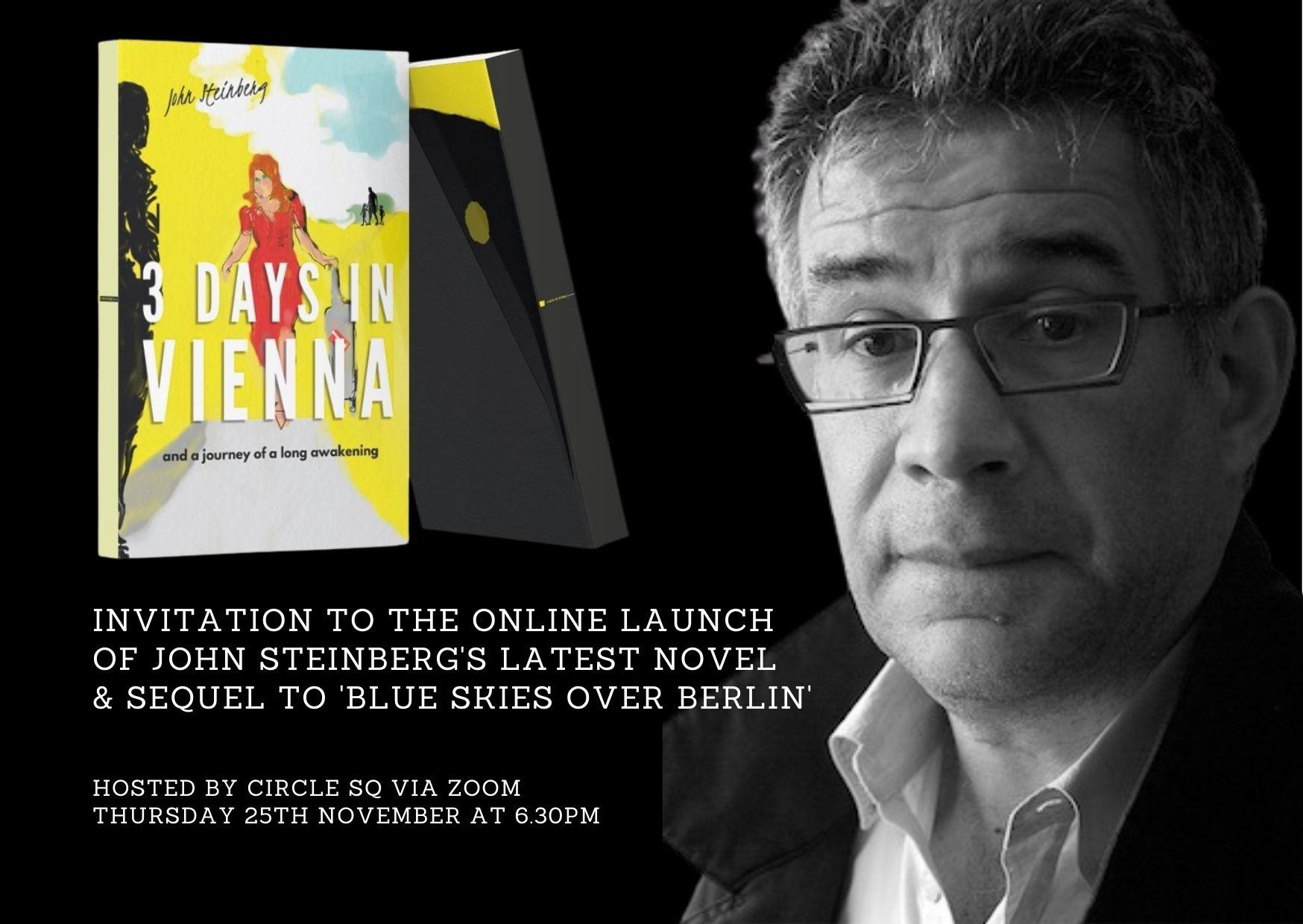 3 Days - launch invite